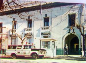 Comisaría de Policía, situada en la calle San Martín Nº 75.