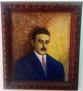 Saraniche retrato a óleo del Dr. José León Suárez.
