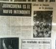 Portada diario La Campaña del Lunes 7 de septiembre 1987