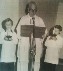 Padre Raúl Camilo Latapié.