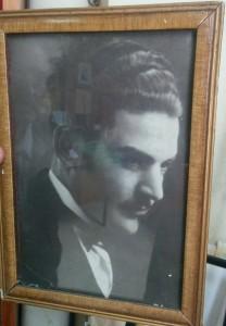El poeta Francisco E. Palmentieri (1907-1933).