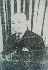 Tradicional retrato de Don Pascual Aaulisio (1889-1960)