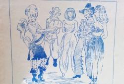 Dibujo alusivo a la celebración del Carnaval