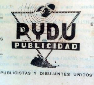 Logo que identificaba a la agencia de Agustín D. Guasco, fundada en 1941.
