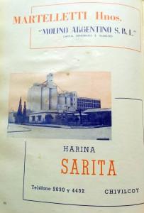 Publicidad de Martelletti Hnos. (Año 1965)