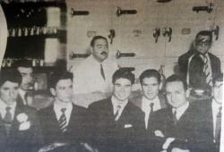 La confitería Vallerga en la década de 1950.