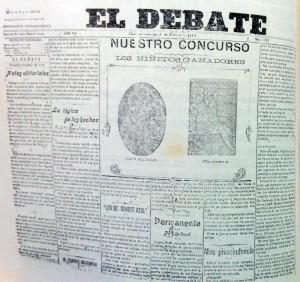 """Diario """"El Debate"""" (1907)"""