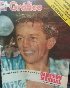"""Revista """"El Gráfico"""", del martes 8 de marzo de 1966."""