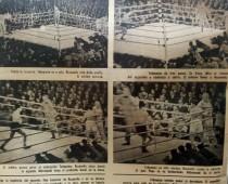 Escenas del combate, en el estadio de Tokio (Japón)