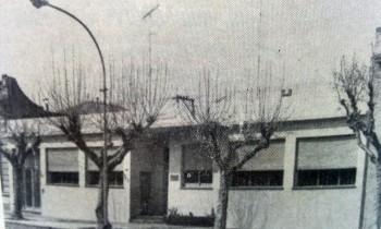 Antigua cede, Centro Unión Empleados de Comercio, sobre la avenida Soarez