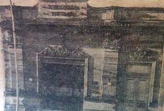 Antiguo edificio de la Biblioteca Popular «Dr. Antonio Novaro», inaugurado en el mes de enero de 1906, y sito en la calle General Frías Nº 38.