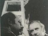 Horacio Cerani, junto a Carlos Sanzone y Aída Hacha