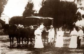 """Estancia """"Las Palmeras"""", en 1900."""