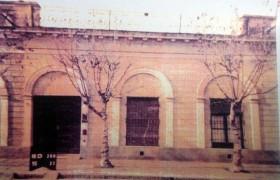 """Fachada de la """"Casa de la Lira"""""""