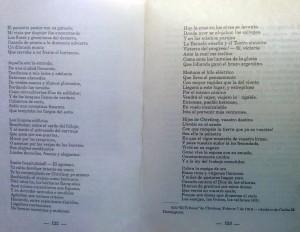 """El poema del Dr. Luis Dominguez, en las páginas del libro """"El Pueblo de Sarmiento"""", del Ing. Mauricio Birabent (Octubre de 1938)"""