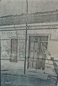 Antigua fachada del edificio de la Escuela Integral Católica, en la Calle San Martín 234