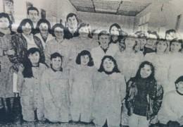 Personal docente y administrativo de la Escuela Integral Católica, en el mes mayo de 1994.