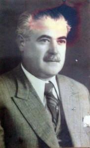 Rector del Colegio Nacional, arquitecto Abel Basso Dastugue (1891-1944)
