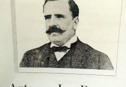 Arturo L. Patrón, fundador de la localidad rural de Ramón Biaus, en 1909.