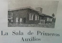 """Sala de Primeros Auxilios """"Arturo L. Patrón"""", inaugurada el 13 de abril de 1947."""