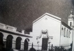 """La Capilla de la Virgen """"Nuestra Señora de los Dolores"""", de la localidad de Ramón Biaus, inaugurada en 1917."""