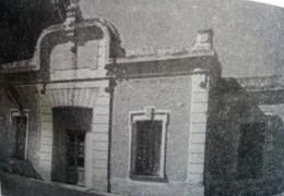 Estación ferroviaria de Ramón Biaus, inaugurada el 15 de marzo de 1909.