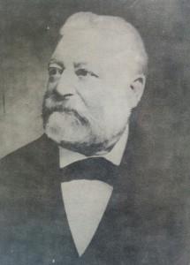 Don Andrés Vaccarezza (1831-1925), fundador del pueblo del Alberti, el 27 de octubre de 1877, y primer presidente de la Cooperadora de la Escuela primaria Nº48
