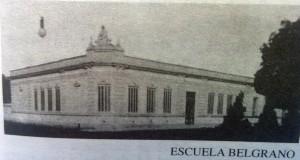 """Escuela Nº8  """"Gral. Manuel Belgrano"""", fundada en 1884."""