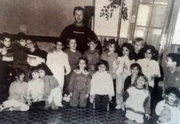 Un grupo de alumnos de la Escuela Nº7