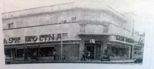Fachada de la Casa Molina, que se fundó en 1921
