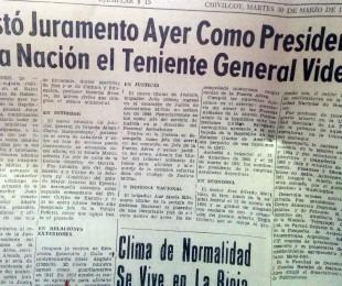 Artículo periodistico del diario de la época