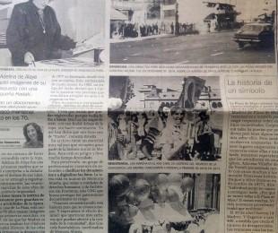 Artículo periodistico de Adelina E. Dematti de Alaye