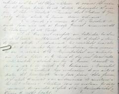 Acta Nº1 del Concejo Escolar (30 de marzo 1876)