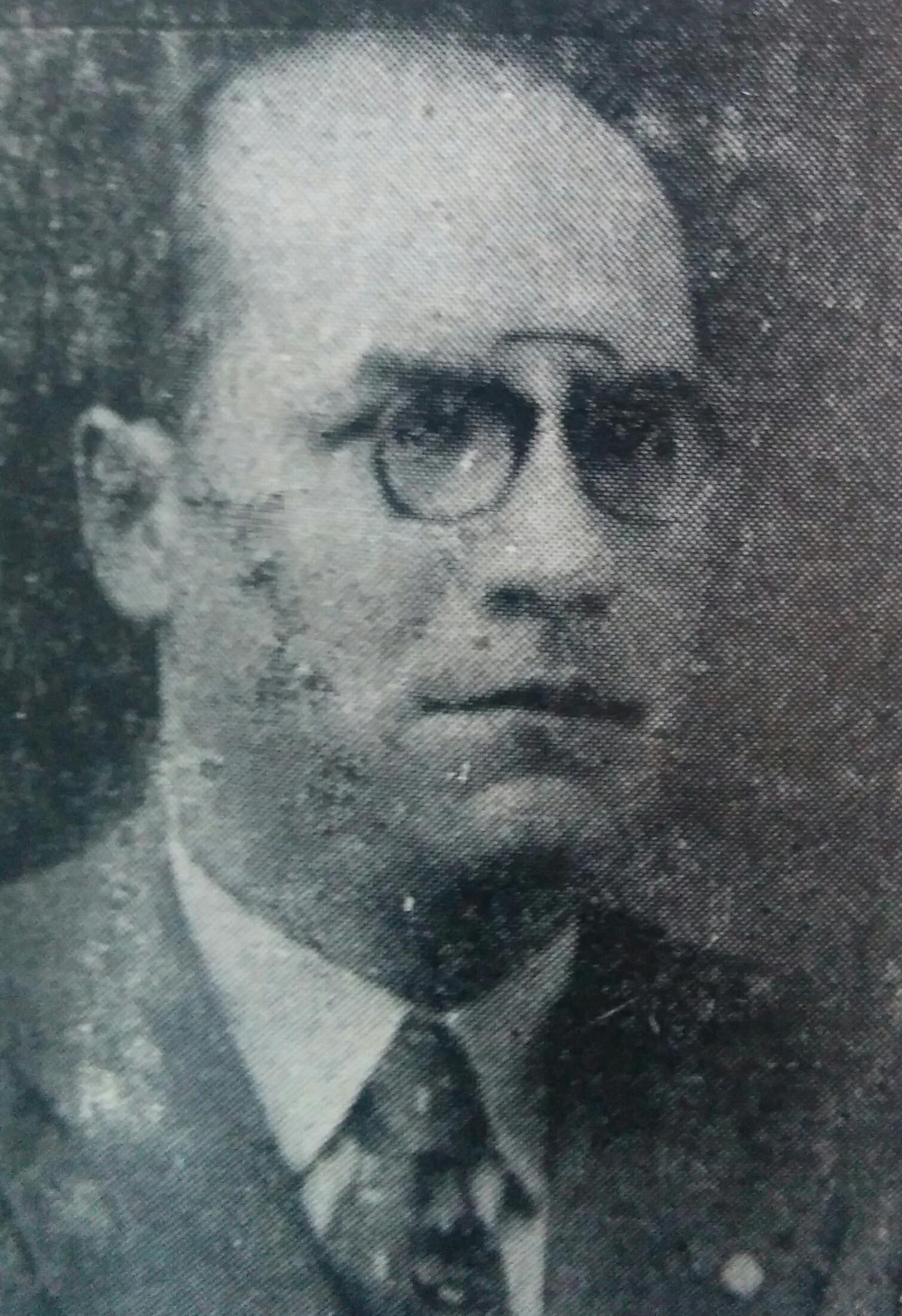 Prof. José María Gallo Mendoza (1897-1964)