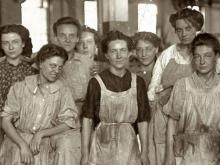 Operarias de la fábrica textil Cotton (1908)