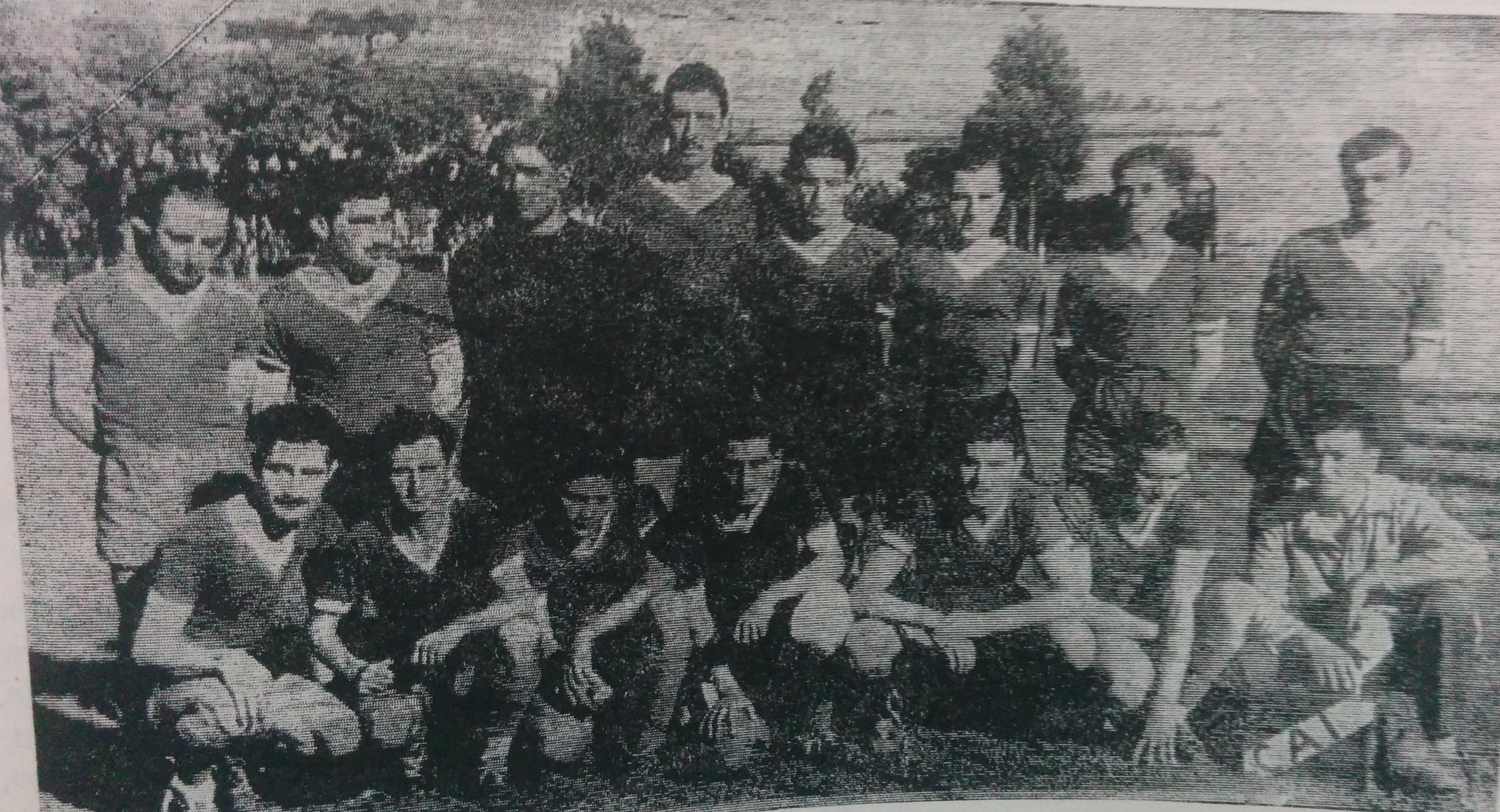 Equipo de Independiente, Campeón del Ascenso, en 1941.