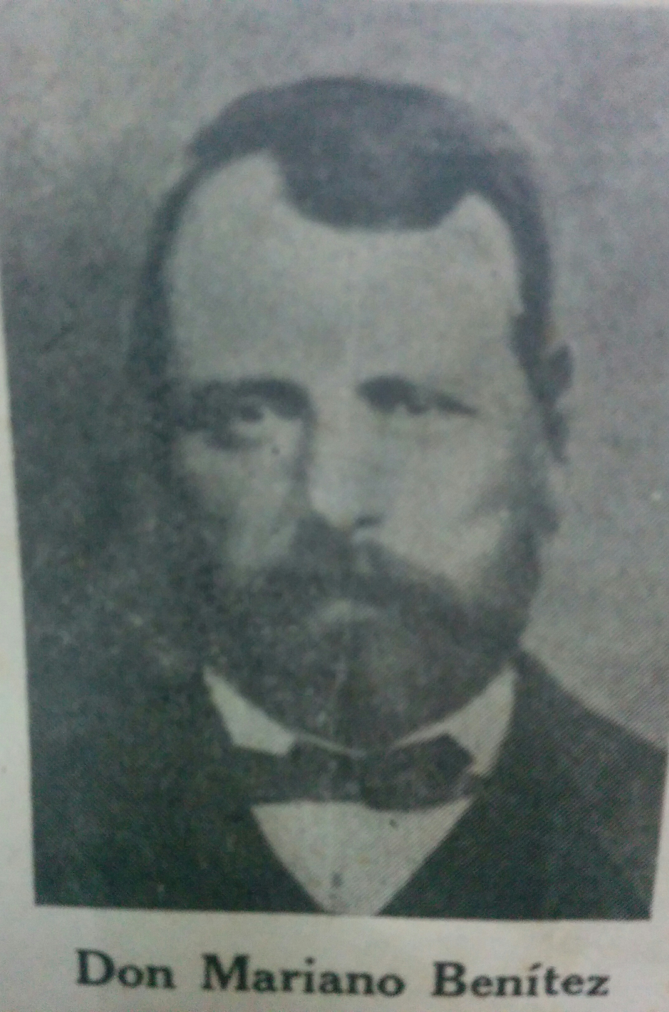 Don Mariano Benítez (1814-1870)