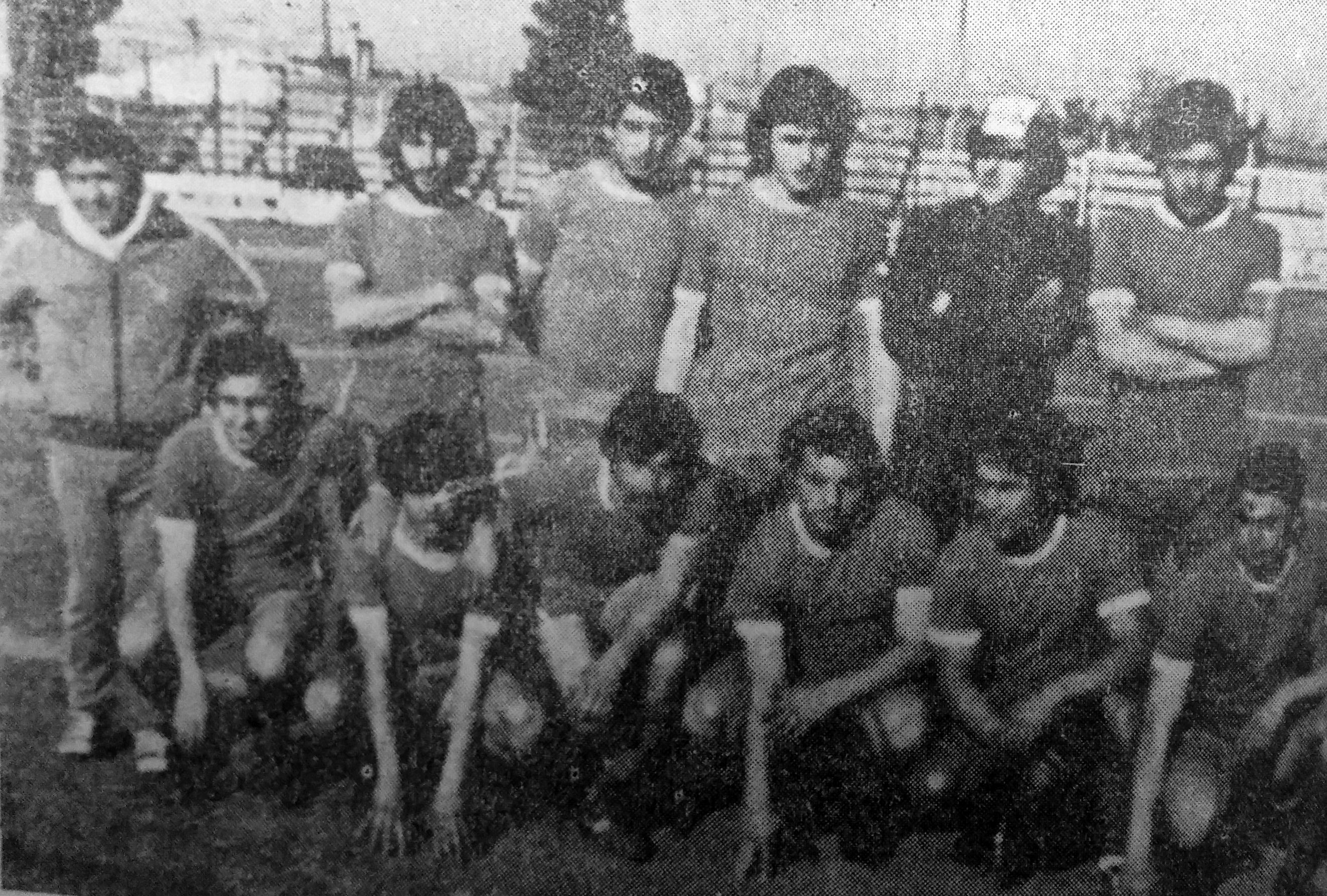 Equipo Futbolístico de Independiente de 1980.