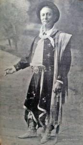 El actor José Podestá (1858-1937), en el rol protagónico de Juan Moreira