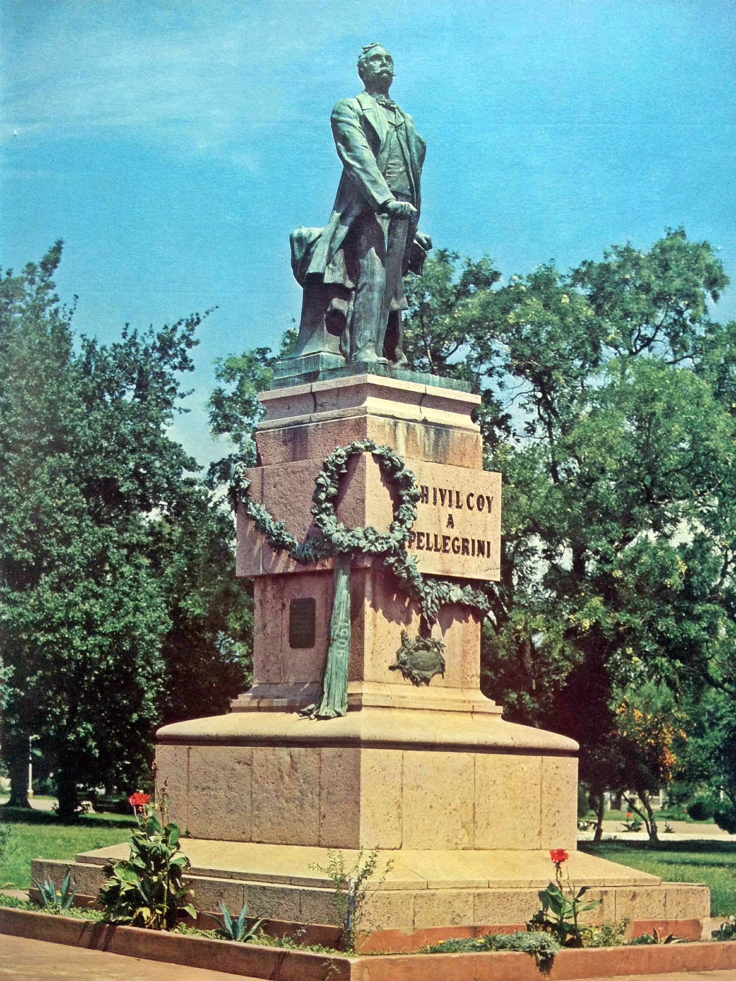Monumento al Dr. Pellegrini (1909)