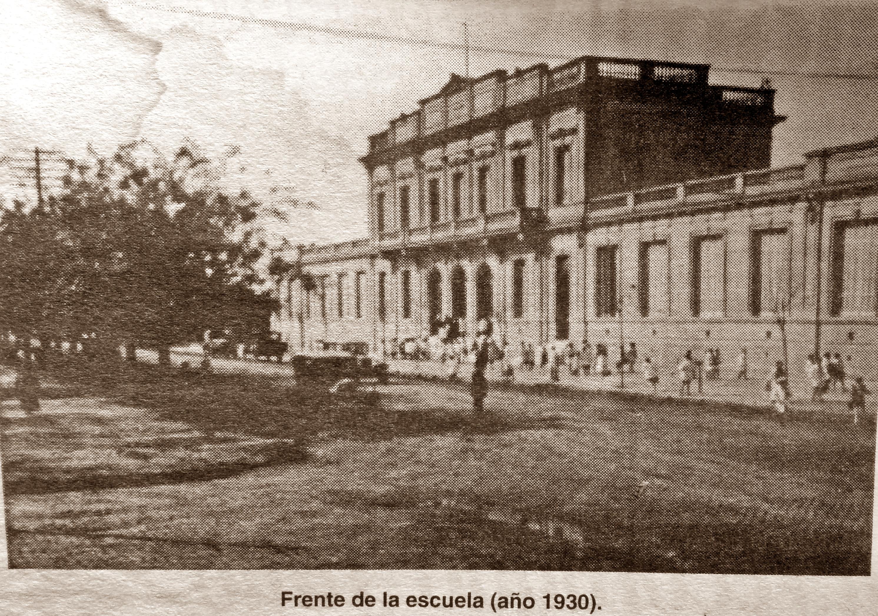Escuela Normal, en la década de 1930