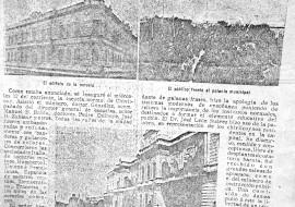 Inauguración de la Escuela Normal, en la revista porteña «Caras y Caretas» (22 de abril de 1905)