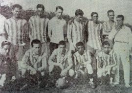 Equipo del club Gimnasia, en 1930.