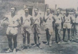Equipo de Basquet, del club Paso (Año 1935)