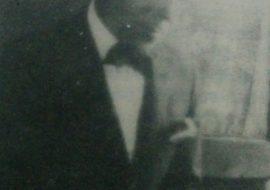 El pintor Don Juan Navarro Granados, primer presidente de la Agrupación Artística Chivilcoy