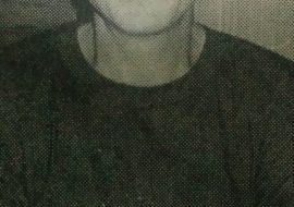 El actor, director y autor teatral, Roberto Posik, pujante y singular propulsor y animador de la Agrupación Artística.