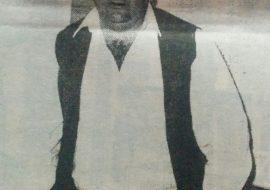El Prof. Oscar Nicolás Direnzo, ex director del Centro de Formación Profesional