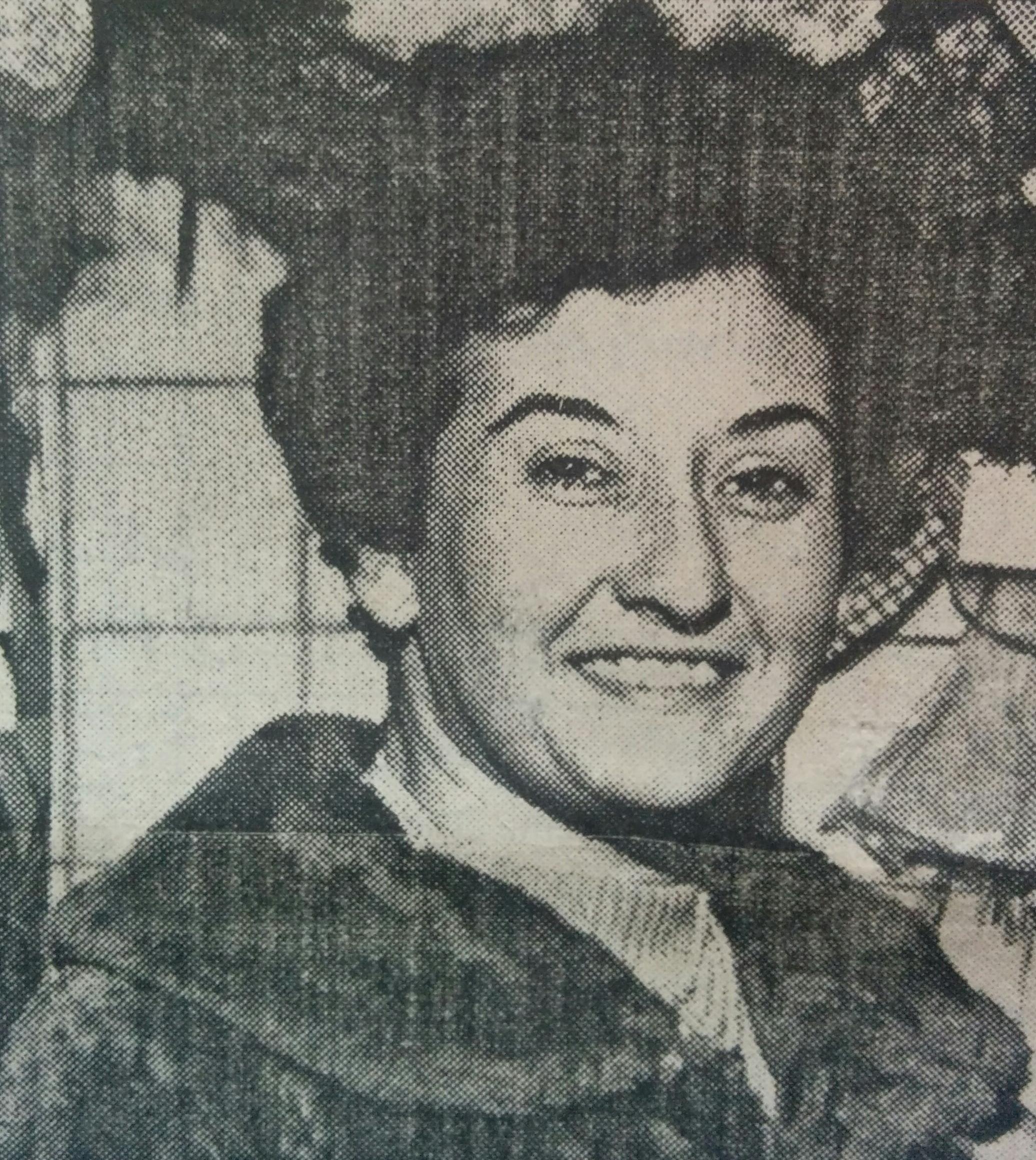 La poetisa y escritora Ángela Elena Daniele (1927-2006)