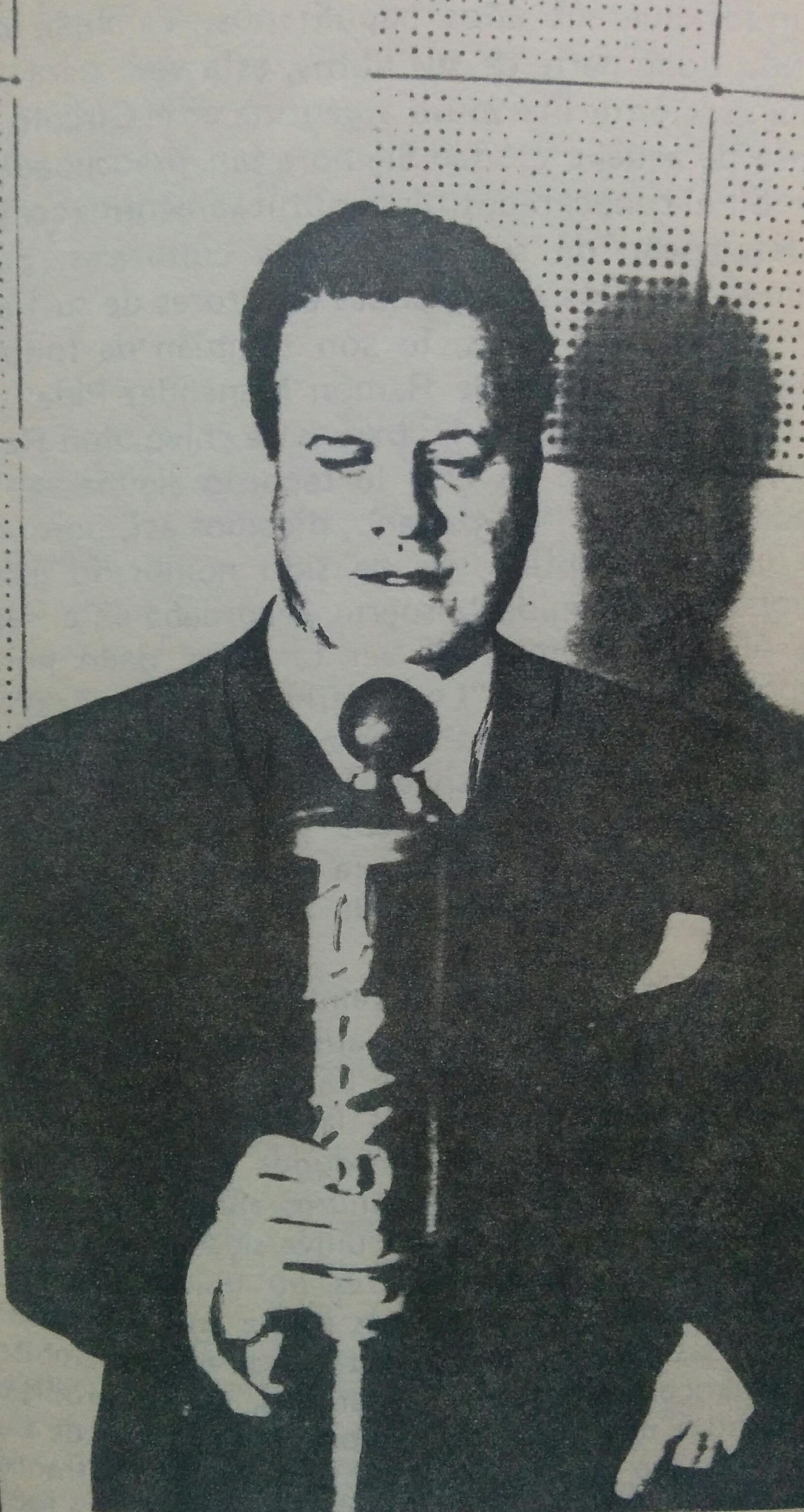 El escritor poeta y diplomático, Arturo Lagorio (1892-1969).