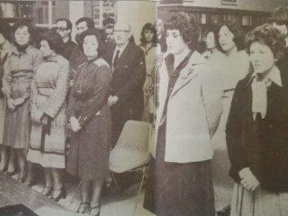 Promoción de Asistentes Sociales, de 1977.